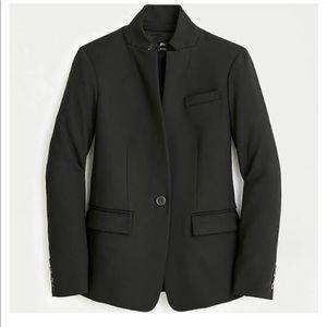 J.Crew Black Regent Blazer Size 12